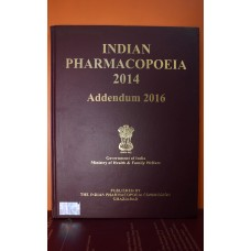 Indian Pharmacopoeia-2014 Addendum 2016 (Without DVD)